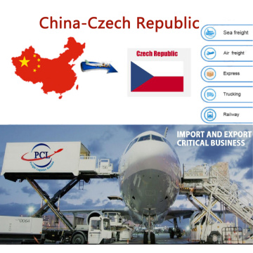 Honest and happy air freight shipping agent rates to Czech from Shenzhen