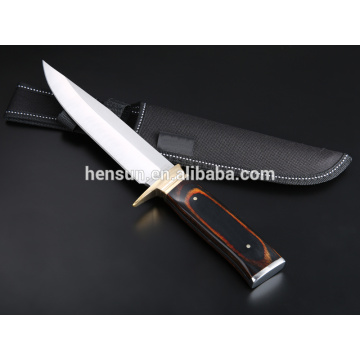 Pakka Wood Hunting Knife for Camping