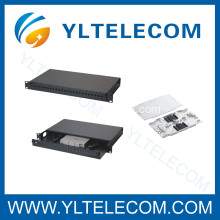 Fiber Optic Patch Panels with Flat Front