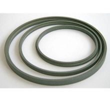 Construction of an oil seal with PTFE sealing