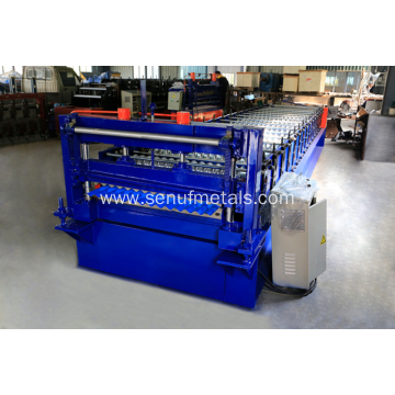 SUF18-76-838 corrugated panel sheet forming machine