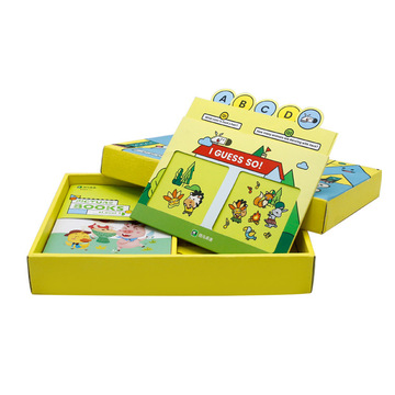 Education books packaging boxes customised