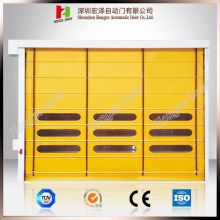 Industrial High Speed ​​Windproof PVC Stacking Door