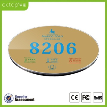 Hotel Room Address Number Electronic Door Plate