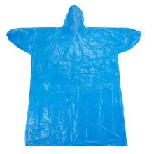 PE Disposable Raincoat for Adults