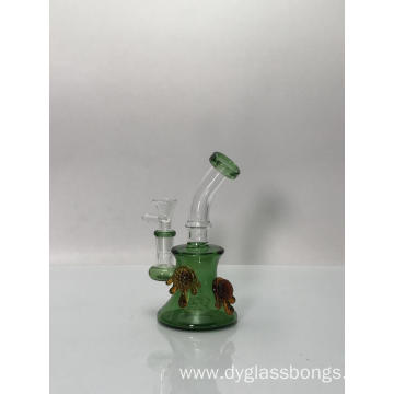Glass Beaker Bongs with Two Lovely Tortoises