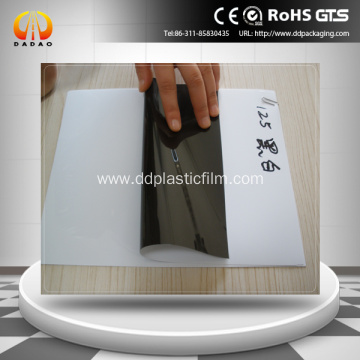 100u black white polyester film