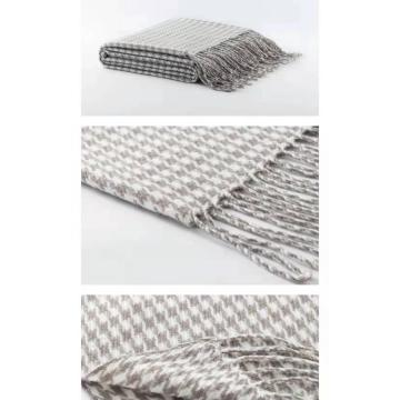 Fashion Wool Large Chunky Knit Blanket