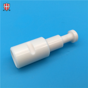 pump polished precise alumina ceramic sleeve and shaft