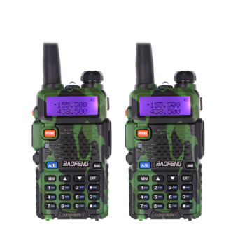 BaoFeng UV-5R Walkie Talkie Dual Band 136-174MHz / 400-520MHz UV5R 128CH VOX FM flashlight Transceiver for Ham Radio