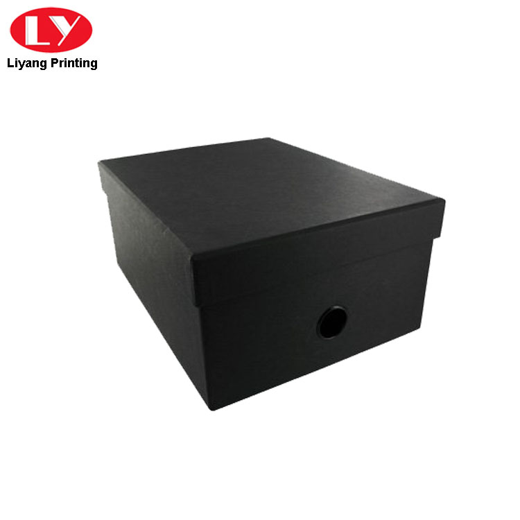 Luxury Matte Black Box