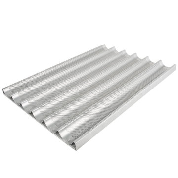 6 Loaves Aluminum Baguette Tray