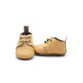 New Design Suede Leather Sole Baby Shoes
