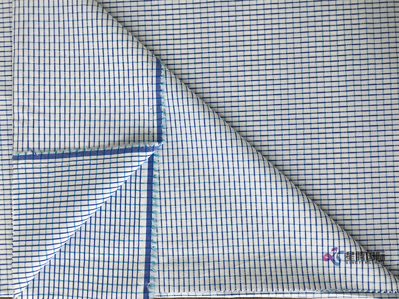Small Check Cotton Fabric For Shirt Garment