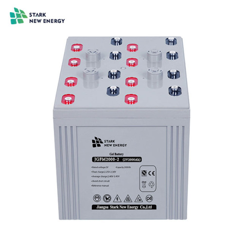 2V2000Ah Solar Gel Battery