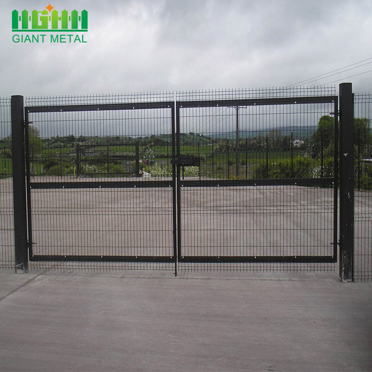 Metal garden fence gate designs