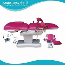 Electric Gynecological Operating delivery bed Table