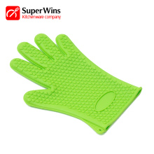 Heavy-Duty Non-slip Kitchen Silicone Oven Mitts