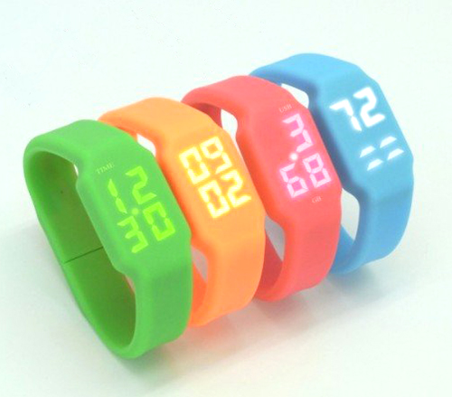 New Arrival Pupils Colorful Digital Watch