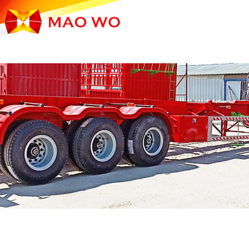 High Capacity 20ft Skeleton Semi Trailer