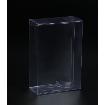 Gift Folding Clear PET Transparent Plastic Box