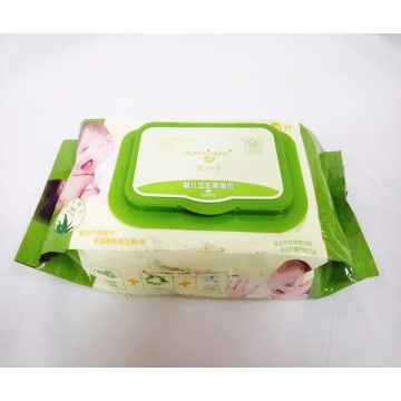 Plain Woven Feature Natural Baby Water Wipes