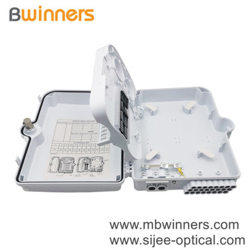 Optical Fiber Distribution Box 24 Core 1:8 Optical Splitter Junction Box