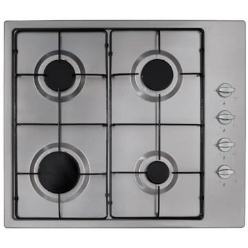 CDA Gas Hobs 60cm Stainless Steel Stove