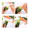 Carrot Spiral Slicer Kitchen Vegetable Cutting Models Potato Cutter Cooking Accessories Home Gadgets Spiral Slicer Cutter#10