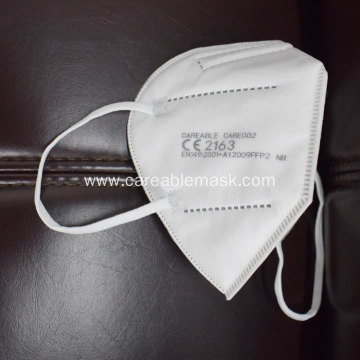 Careable FFP2 Folding Mask EN149 PPE Export Whitelist