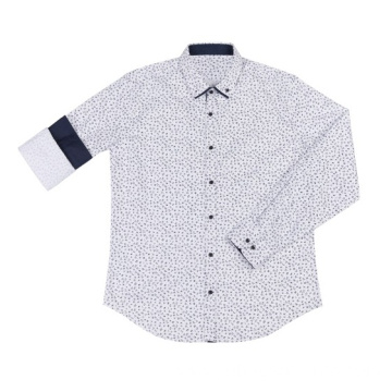 Custom Men's Long Sleeve Woven Shirts