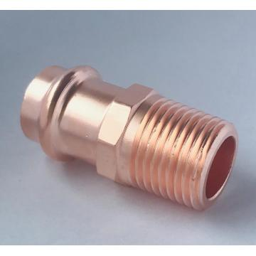 Copper Press Male Connector Adapter