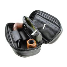 Tobacco Bag Holds Soft Leather Portable Rolling Pipe Tobacco Pouch Wallet Tip Paper Holder Smoking Accessories