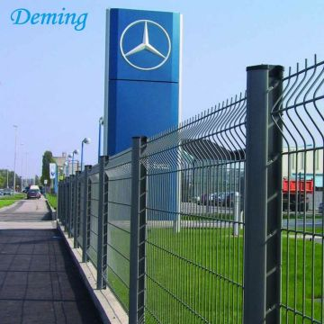 Outdoor Galvanized PVC coated panel welded Mesh fence