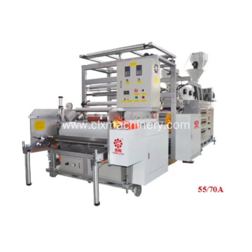LLDPE Extruding Stretch Film Plant Making