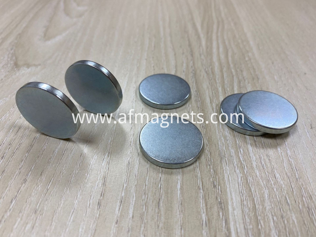 Cheap Zinc Coating Neodymium Disc Magnets