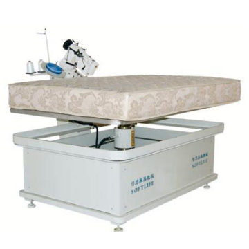 Mattress edge banding machine for mattress manufacturing