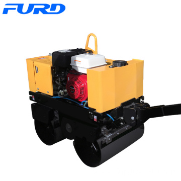 FYL-800 Hand Hold Double Drums Road Roller with Honda Engine