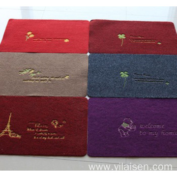 Hot new products anti-skid backing carpet anti-dust mat