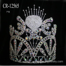 New Pageant Crown Bride Crown Headdress Hair Accessories