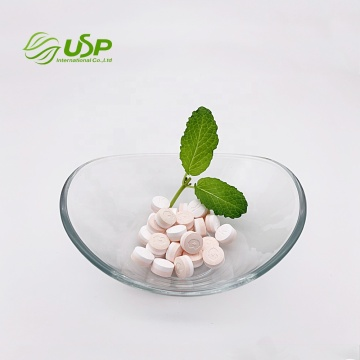 OEM wholesale peach stevia tablet mint