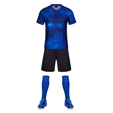Starry sky pattern soccer jersey training for team