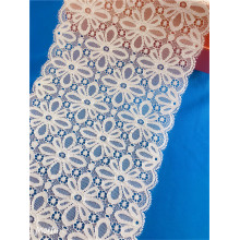 New Fashion Elastic Broad Lace Trim for Lingerie