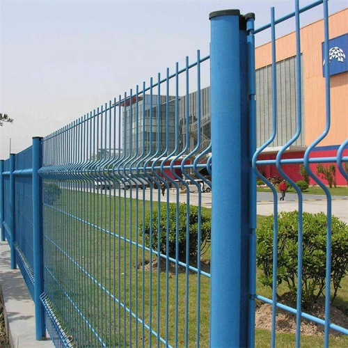 Galvanized Steel bending Wire Mesh fence