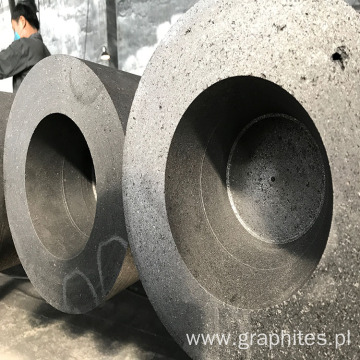 High power graphite electrode with 4 tpi nipple