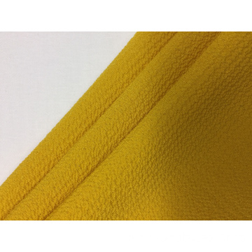 75D Polyester Bubble Crepe Chiffon Solid Fabric