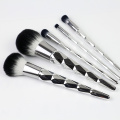 Sliver diamond unicorn 5 pcs makeup brush
