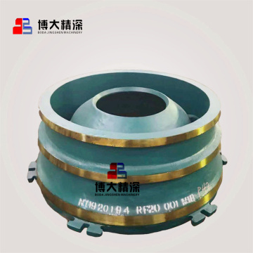 mining cone crusher gp500s spare parts bowl liner