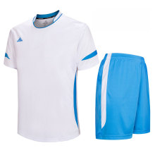 kit de football personnalisé jersey de football blanc