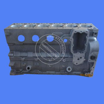6D125 Engine Parts Cylinder block 6151-22-1100 for PC400-6